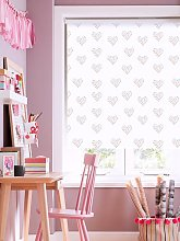 Confetti Hearts Blackout Roller Blind