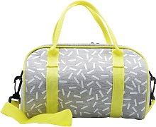Confetti Print Jersey Bowling Lunch Bag