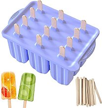 Congci Ice Moulds Silicone Ice Lolly Mould with