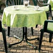Congdon Tablecloth Sol 72 Outdoor Colour: Green