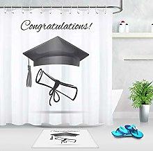 Congratulations School Party Waterproof Fabric