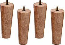 Conical Solid Wood Furniture Legs,Replacement Sofa