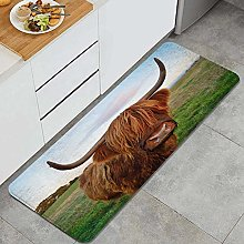 CONICIXI Highland cattle cow Anti Fatigue Kitchen