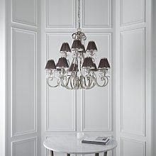 Conlon 12-Light Shaded Chandelier Astoria Grand