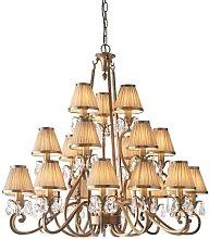 Conlon 21-Light Shaded Chandelier Astoria Grand