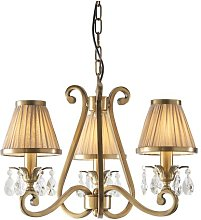 Conlon 3-Light Shaded Chandelier Astoria Grand