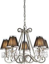 Conlon 5-Light Shaded Chandelier Astoria Grand