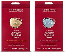 Connoisseurs Jewellery Polishing & Cleaning Cloth