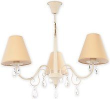 Connor 3-Light Shaded Chandelier Lily Manor