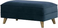 Conrad Footstool August Grove Upholstery Colour: