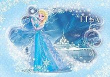 Consalnet Disney Frozen Elsa Light Blue Wallpaper