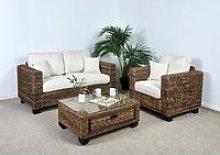 Conservatory 2 Seat Large Sofa Set - 1x Sofa, 1x