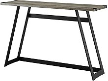 Console Table Foster Grey Wooden Effect Console