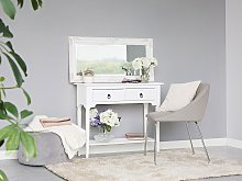 Console Table White 2 Drawers Hallway Furniture 79