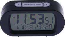 Constant Digital Alarm Clock - Black