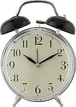 Constant Twin Bell Alarm Clock - Black
