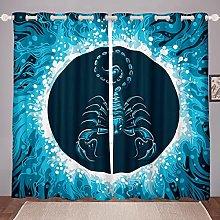 Constellation Curtain for Bedroom Child Scorpio