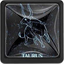 Constellation Zodiac Taurus, 3 Pcs Crystal Class