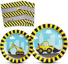 Construction Party Supplies - Disposable Dump