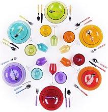 Consuelo 48 Piece Dinnerware Set, Service for 6
