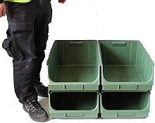 Container Pick Wall 4 x Union Bins (Ref F) Plastic