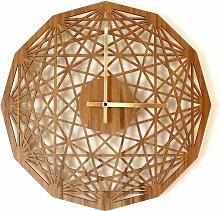 Contemporary clock - Mandala clock - Geometric