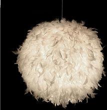 Contemporary Hanging Light Ø30cm Pure White