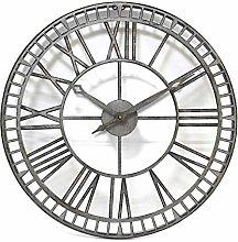 Contemporary Metal Outdoor Clock