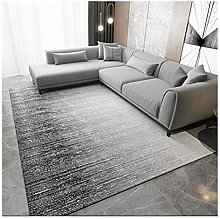 Contemporary Modern Carpet Abstract Fall Blue