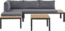 Contemporary Outdoor Set Modular Sofa Cushions