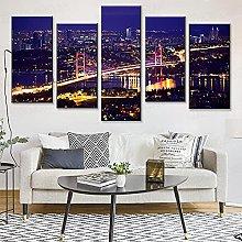 Contemporary Wall Art Painting Bedroom Dj Blender