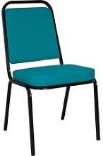 Contessa Banquet Chair , Black/Charcoal, Free