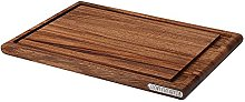 Continenta Acacia Wood Carving Board, Dark Brown,