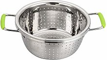 Contiup Stainless Steel Double-Handle Colander