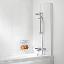 Contract Shower Curtain Panel Bath Screen 1400mm H