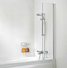 Contract Shower Curtain Panel Bath Screen 1500mm H