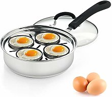 Cook N Home 02625 4 Cup Stainless Steel Egg