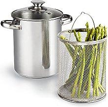 Cook N Home 4 Quart 3-Piece Vegetable Asparagus