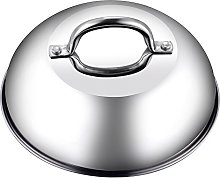Cook N Home 9.5-Inch Dome Lid, Stainless Steel,