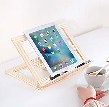 Cookbook Holder Made of Bamboo - for Kitchen and