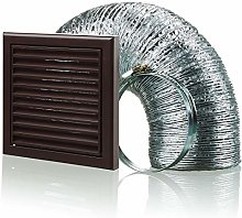 Cooker Hood Wall Ventilation Duct Vent Grill Kit