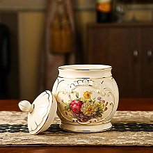 Cookie Jar Biscuit Barrel Airtight with Lid,