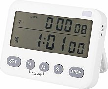 Cooking Alarm Clock, Mute Timer Kitchen Timer for