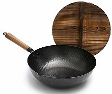 Cooking Pots Pans Traditional Hand Hammered Iron