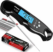 Cooking Thermometer with Backlight LCD, IP67