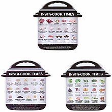Cooking Time Stickers, Instant Pot Food Images