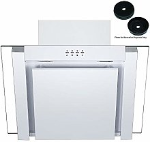 Cookology ANG605WH White 60cm Angled Extractor Fan
