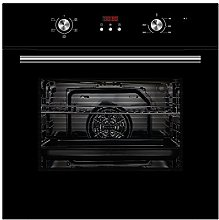 Cookology Black Built-in Electric Single Fan Oven