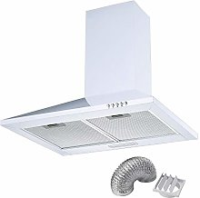 Cookology CH600WH White Extractor Fan 60cm Kitchen