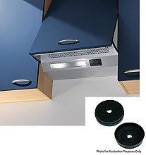 Cookology Integrated Cupboard Cooker hood INT605SI